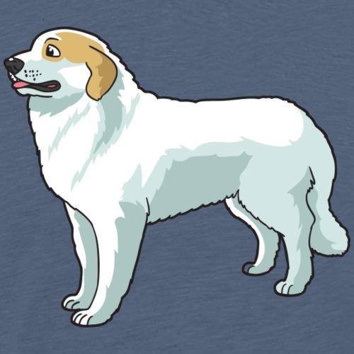 Great Pyrenees Dog - Men's Premium T-Shirt