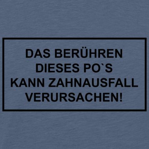 Warnung Zahnausfall - Männer Premium T-Shirt