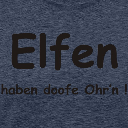 elfenohren - Männer Premium T-Shirt