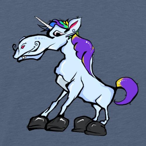 Kids Crazy Funny Unicorn Shirt For Boys Girls - Men's Premium T-Shirt