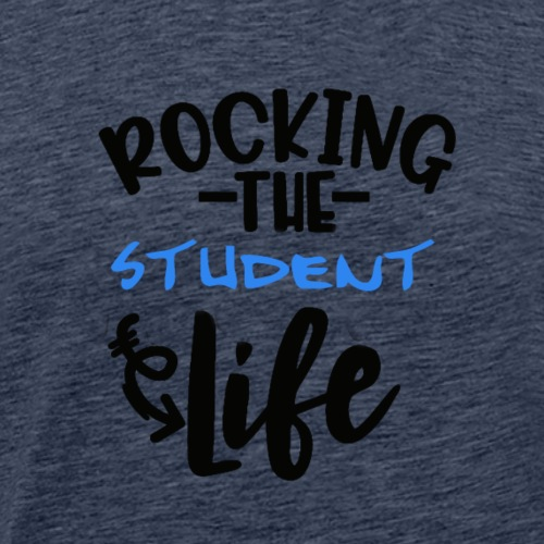 Rocking the student life #boy - Männer Premium T-Shirt