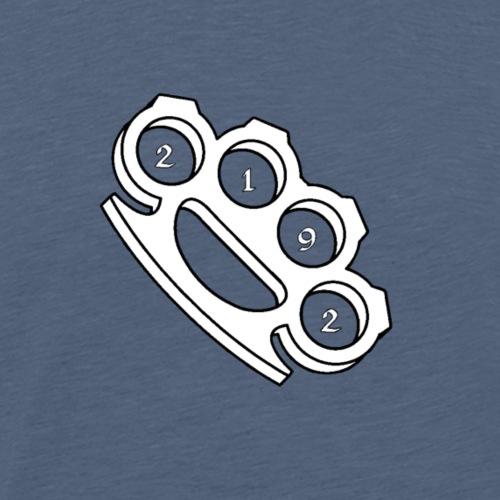 2192 Schlagring weiß - Männer Premium T-Shirt