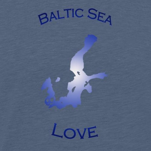BalticSea Love dark blue - Männer Premium T-Shirt
