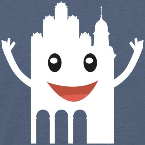 Meppi weiss - Männer Premium T-Shirt