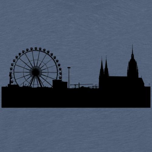 Bavaria skyline - Männer Premium T-Shirt