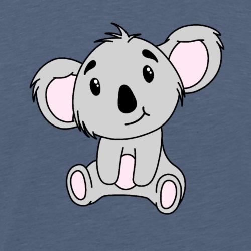 Cute Baby Koala Bear - Men's Premium T-Shirt