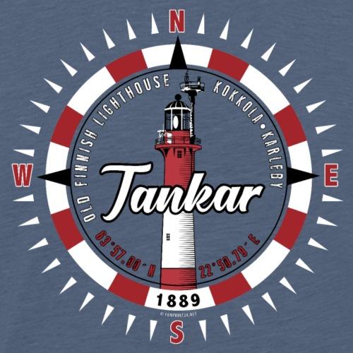 TANKAR MAJAKKA - Kompassi T-paidat ja tuotteet - Miesten premium t-paita