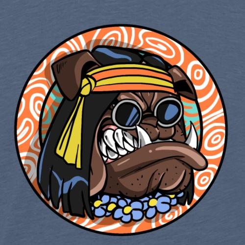 Franky le Bullgog 5 - T-shirt Premium Homme