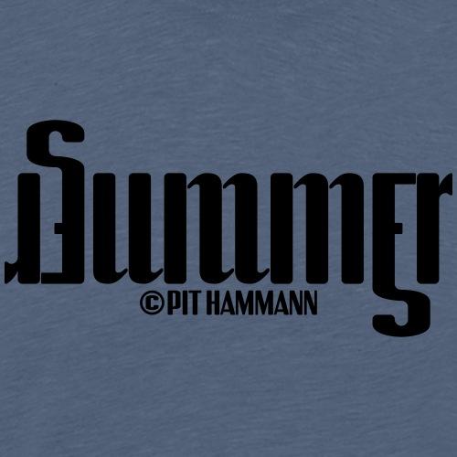 Ambigramm Summer 01 Pit Hammann - Männer Premium T-Shirt