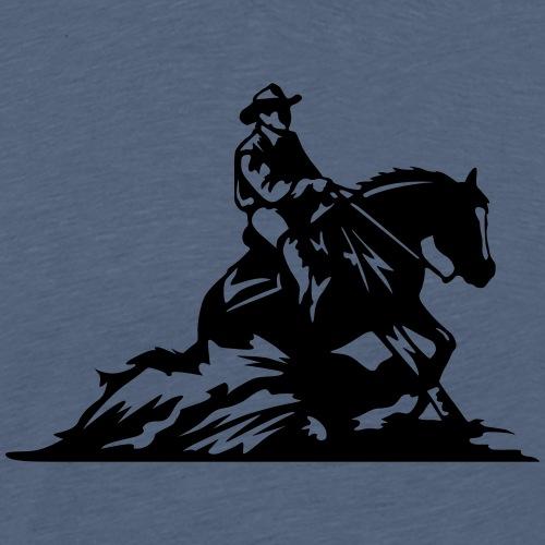 Sliding stop - Männer Premium T-Shirt