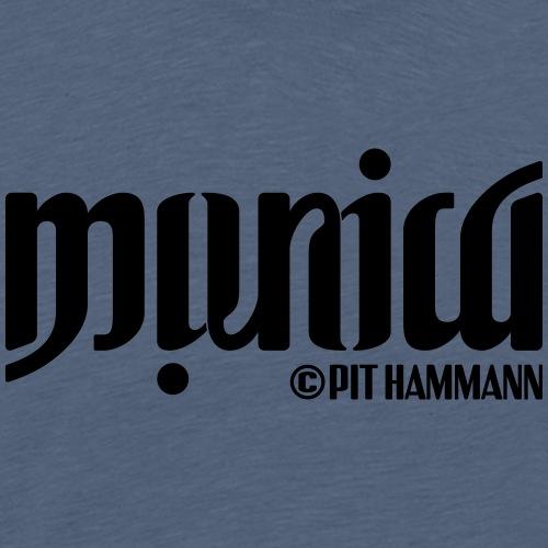 Ambigramm Monica 01 Pit Hammann - Männer Premium T-Shirt