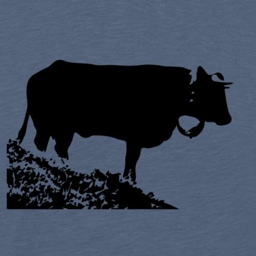 Vache d'Hérens - Cow - Männer Premium T-Shirt