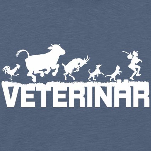 Veterinär Tierarzt Tierdoktor Bremer Geschenk - Männer Premium T-Shirt