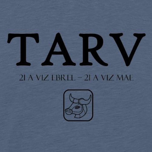 Bretagne - Tarv - Taureau - T-shirt Premium Homme