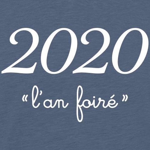 2020 l'an foiré - Men's Premium T-Shirt