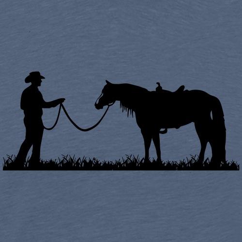 Horsemanship - Männer Premium T-Shirt