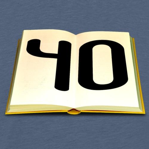 Geburtstag 40 Jahre - Männer Premium T-Shirt