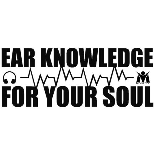 RM - Ear knowledge for your soul - Black - Men's Premium T-Shirt