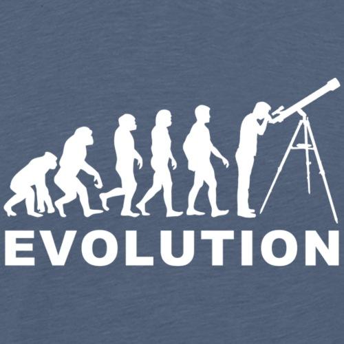 Astronomy evolution - Camiseta premium hombre