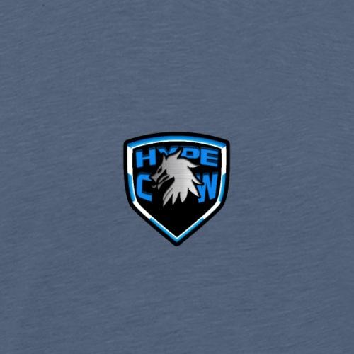 HypeCw logo (Silver) - Men's Premium T-Shirt