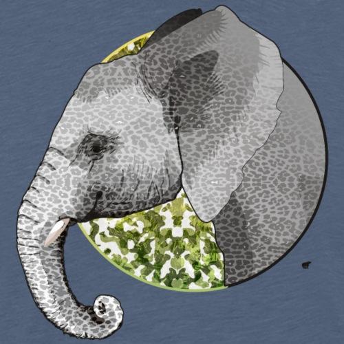Éléphant - T-shirt Premium Homme