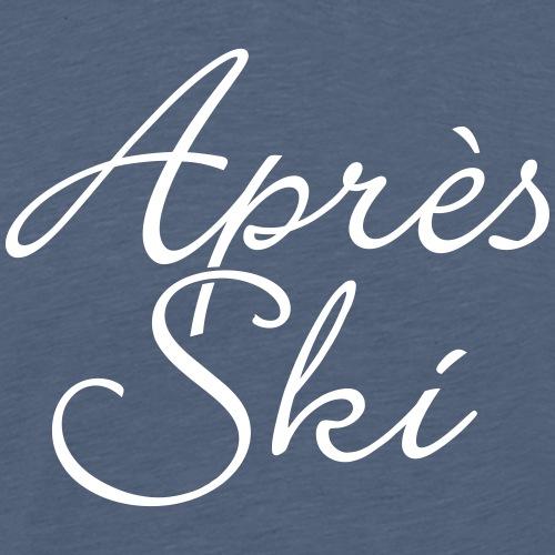 Après-Ski Klassisch Wintersport - Männer Premium T-Shirt