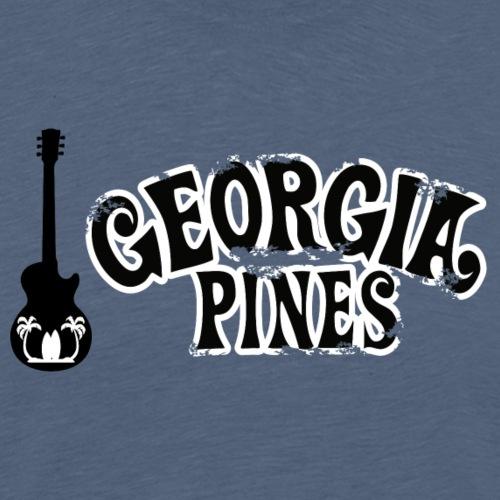 Georgia Pines Band Shirt Logo Gitarre - Männer Premium T-Shirt