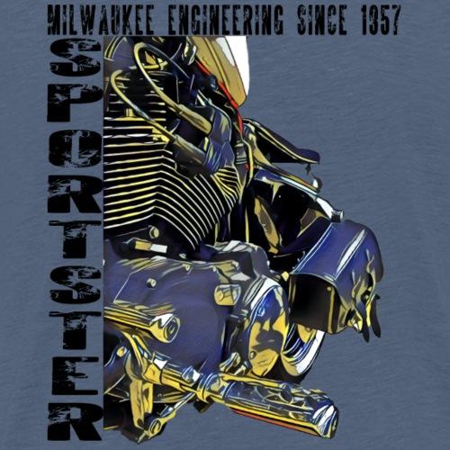 Sportster 1957 - Männer Premium T-Shirt