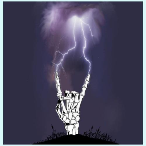 signe metal squelette - T-shirt Premium Homme