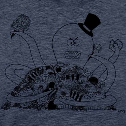 Hugo loves candy! - Männer Premium T-Shirt