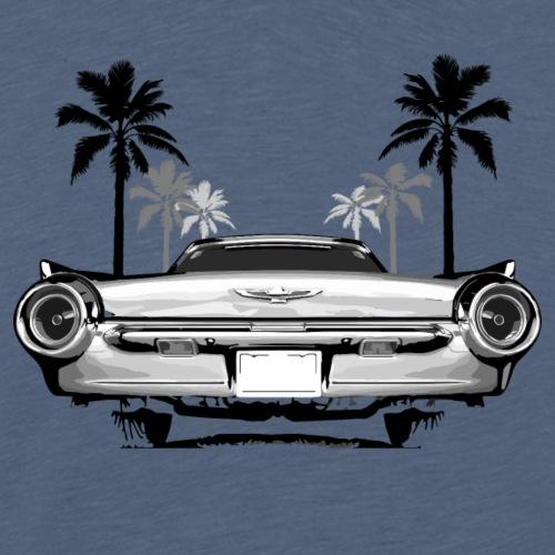 Bullet Bird Tail Thunderbird - Männer Premium T-Shirt