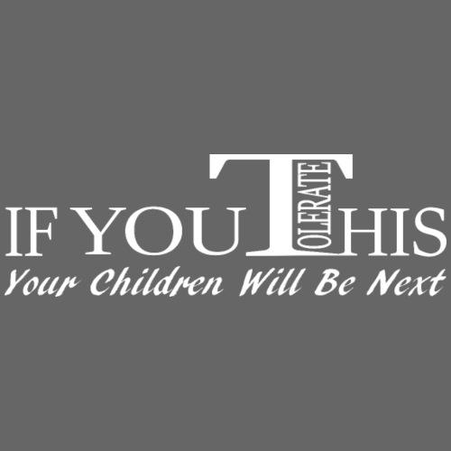 Don't tolerate - Men's Premium T-Shirt