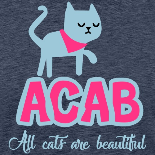 All Cats Are Beautiful - Premium T-skjorte for menn