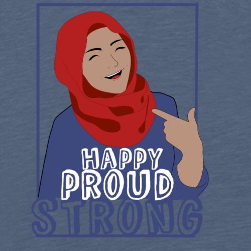 Le voile, mon choix - T-shirt Premium Homme