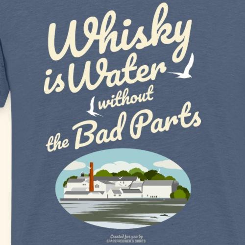Whisky Is Water Brennerei - Männer Premium T-Shirt