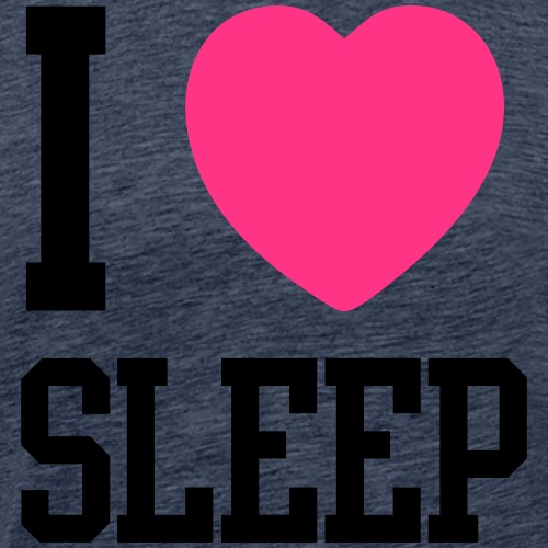 I HEART SLEEP - Männer Premium T-Shirt