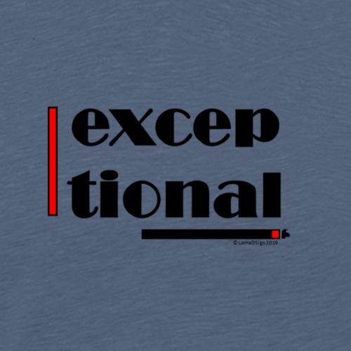 Exceptional Red - Men's Premium T-Shirt