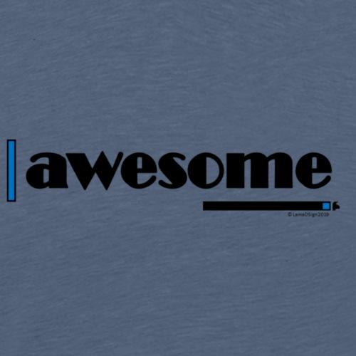 Awesome Blue - Men's Premium T-Shirt