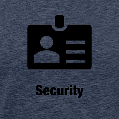 Security - Männer Premium T-Shirt