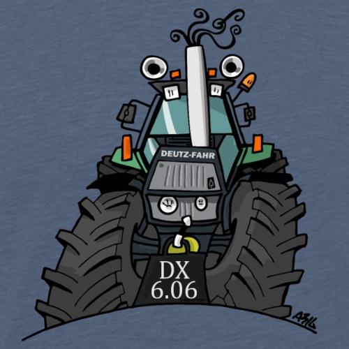 0367 Groene trekker DX606 - Mannen Premium T-shirt