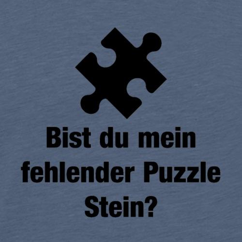 Puzzle Stein - Männer Premium T-Shirt