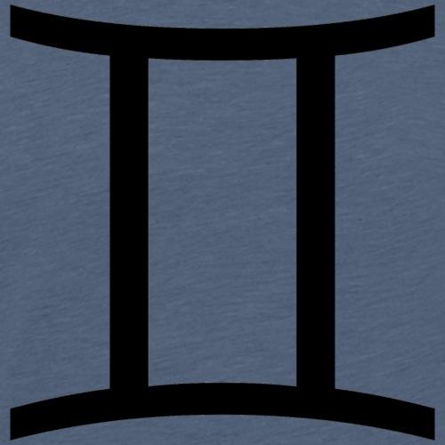 Zwillinge - Männer Premium T-Shirt