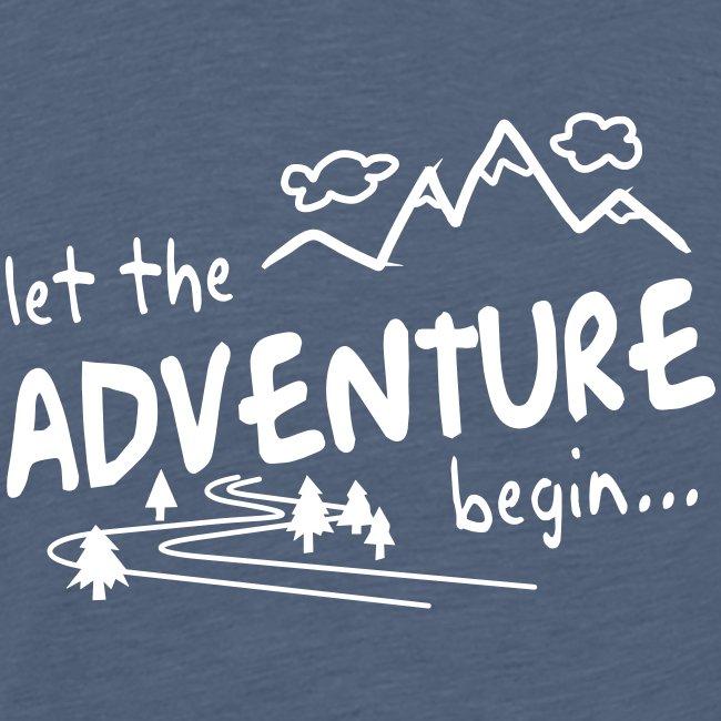 Let the Adventure begin