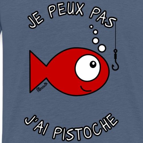Poisson, J'ai Pistoche - T-shirt Premium Homme