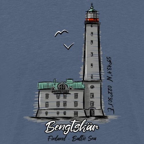 BENGTSKÄR MAJAKKA Marine Textiles, and Gifts - Miesten premium t-paita