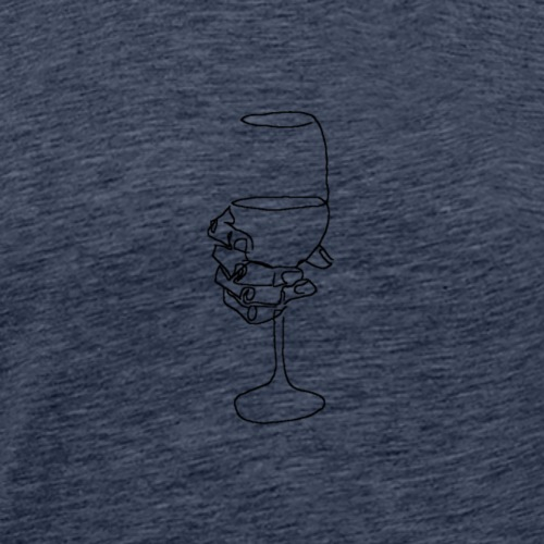 wine - Männer Premium T-Shirt