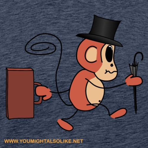 Business Monkey - Men's Premium T-Shirt