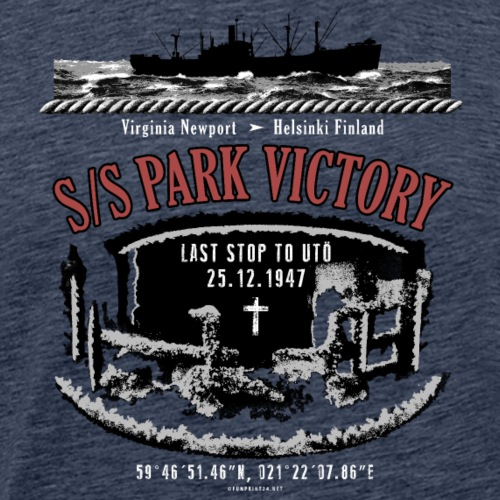 PARK VICTORY LAIVA - Tekstiilit ja lahjatuotteet - Miesten premium t-paita