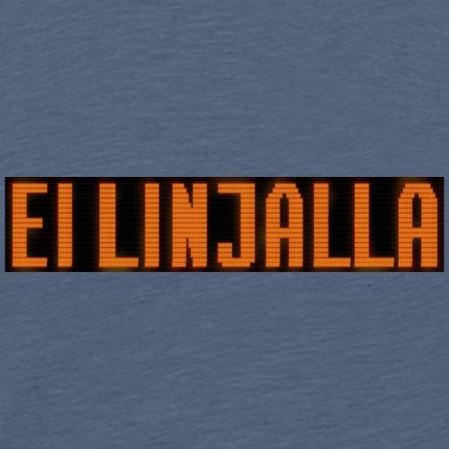 EI LINJALLA - Miesten premium t-paita