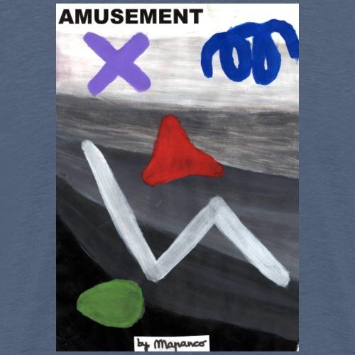 AMUSEMENT with rasgos - Camiseta premium hombre